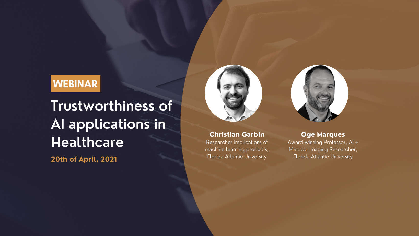 Webinar: Trustworthiness of AI applications in Healthcare